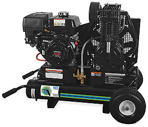 Air Compressor/Generator Combination