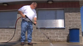 how to strip paint with a pressure washer